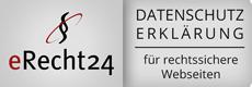 eRecht24 - Datenschutz-Siegel